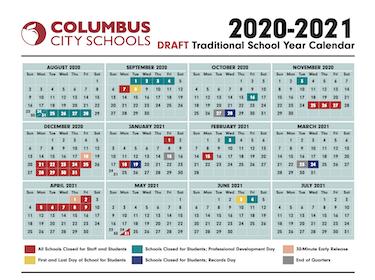 Columbus City Schools Calendar 2021 Headlines & Features