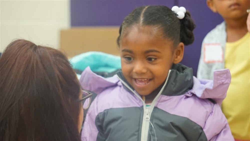 Avondale students get new coats