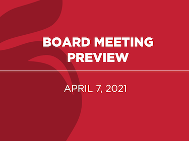 Board Meeting Preview