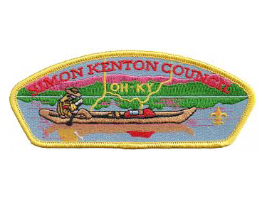 Simon Kenton Scout Patch