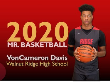 VonCameron Davis Mr. Basketball