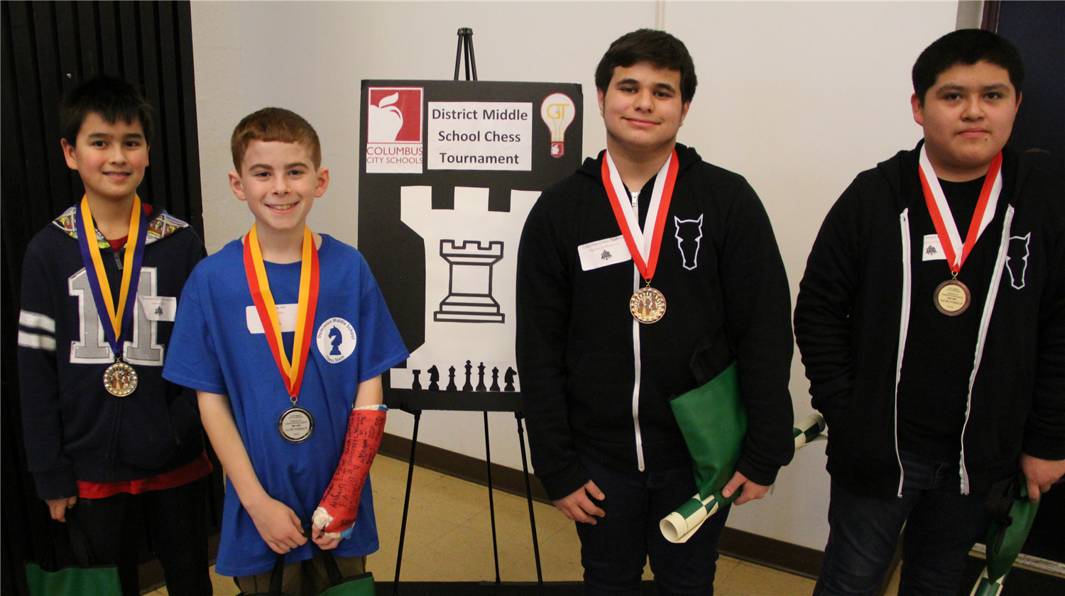 Chess finalists