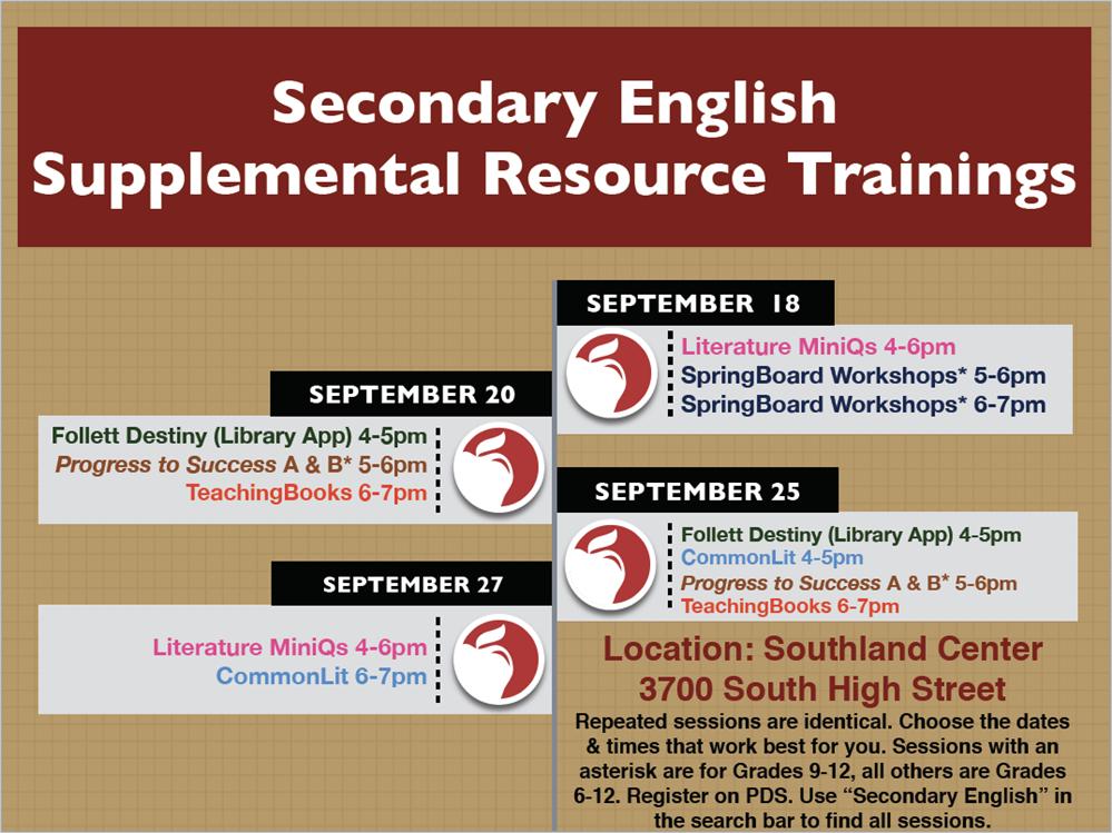 Curriculum Division / English Language Arts 6-12