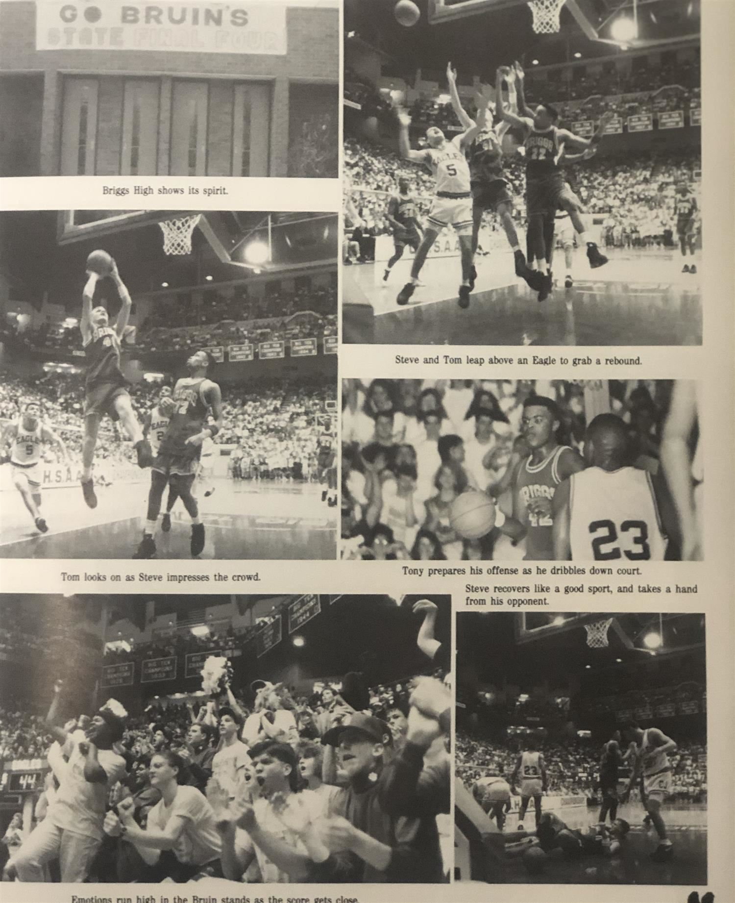 1991 State Final 4 Basketball Team Part 2