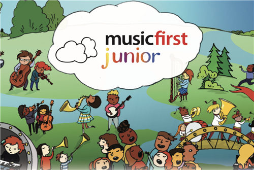 Music First Junior Logo