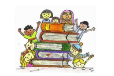 Kids with Books Image