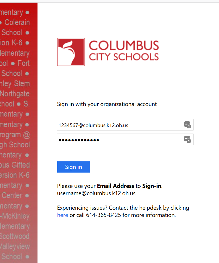 Your by address school to email you issued