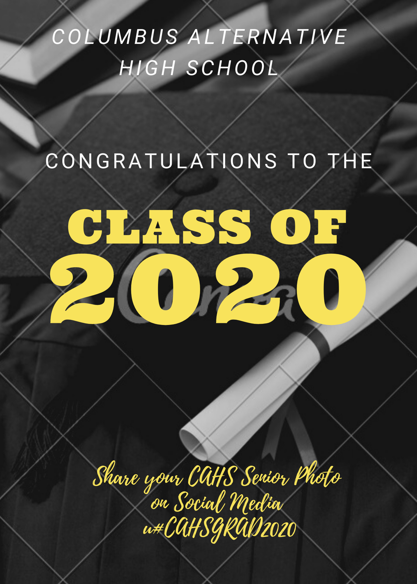 Congratulations Class of 2020!  We are so proud of you.