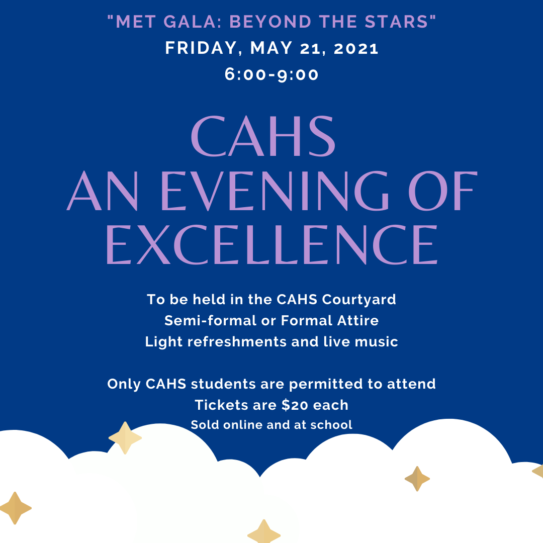 CAHS an evening of excellence