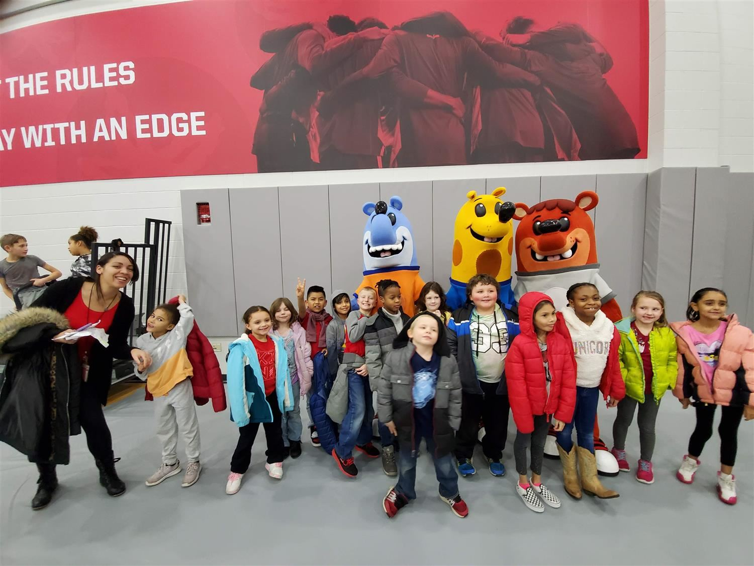 Second Grade attends an OSU men's basketball game with the 2nd and 7 Foundation