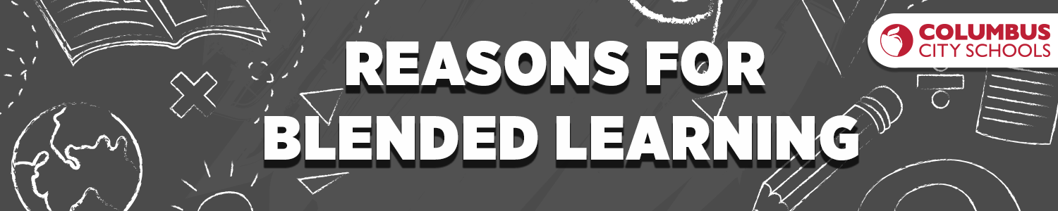 Reasons for Blended Learning