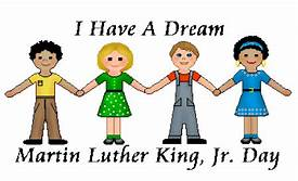 Monday, January 20, 2020 ***NO SCHOOL***  Martin Luther King Day.