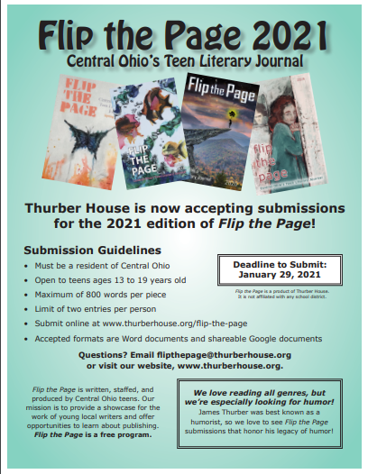 Flip the Page: Central Ohio's Teen Literary Journal