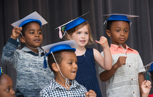 Children at Graduation