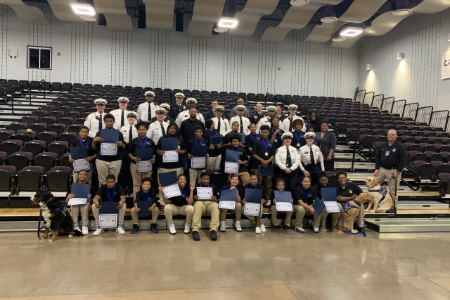 Africentric Middle School Students Complete Teens and Police Service Academy Program