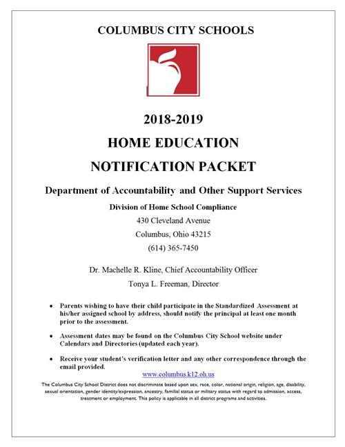 Home Education Notification