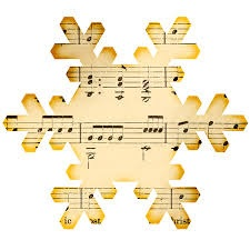Music Note Snowflake