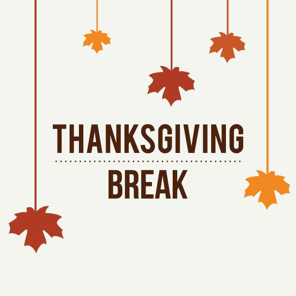 No School Nov. 27-29<br>Have a safe and happy Thanksgiving Break!