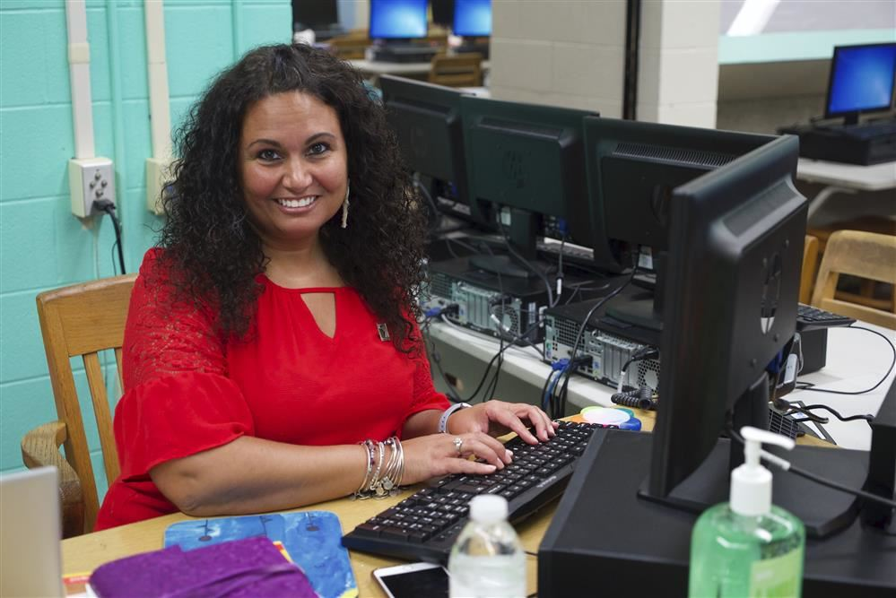 Former Human Resource Employee has a Bright Future as First Year Teacher at Sherwood Middle School