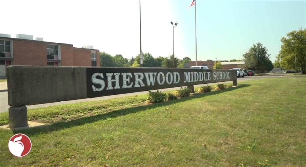 Sherwood Middle School Outside