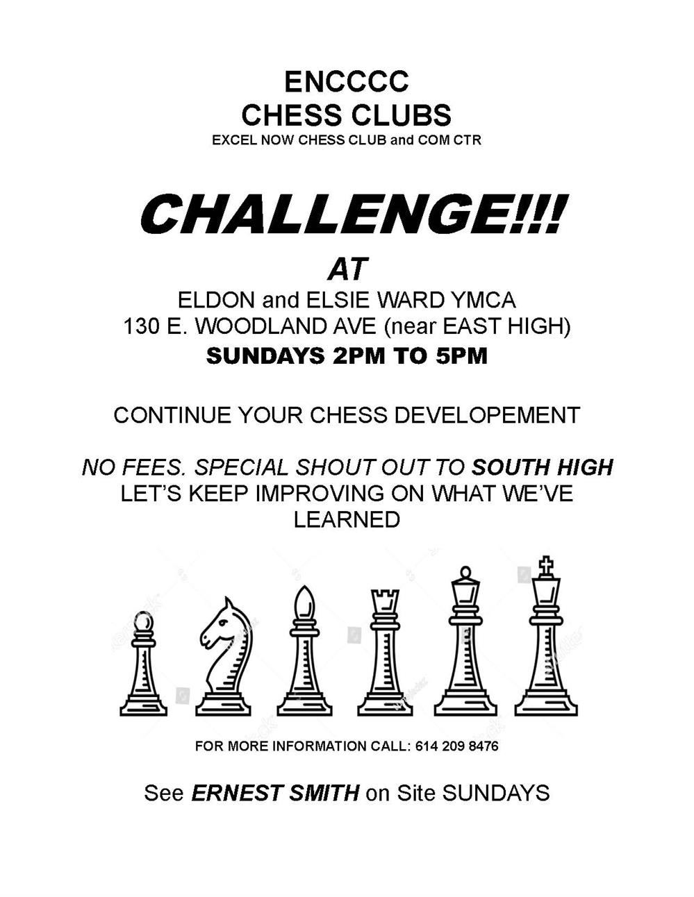 Excel NOW Chess Club