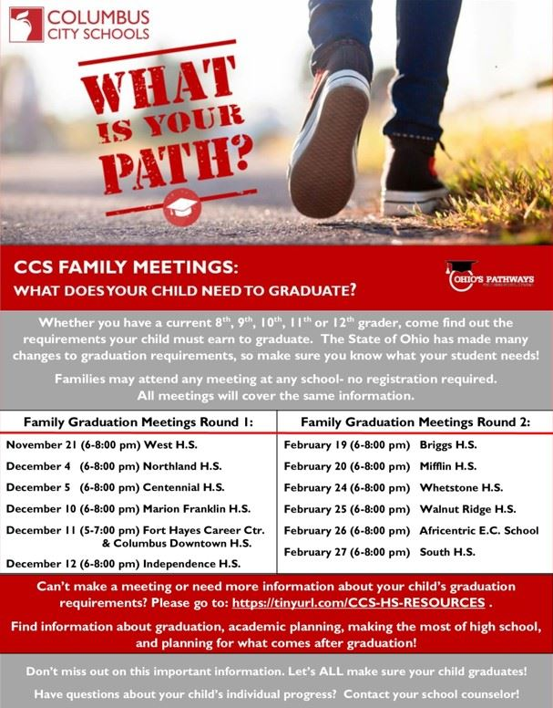 Parent Meeting on Graduation Requirements